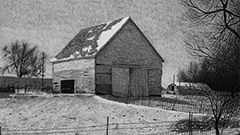 Barn 26 Drawing